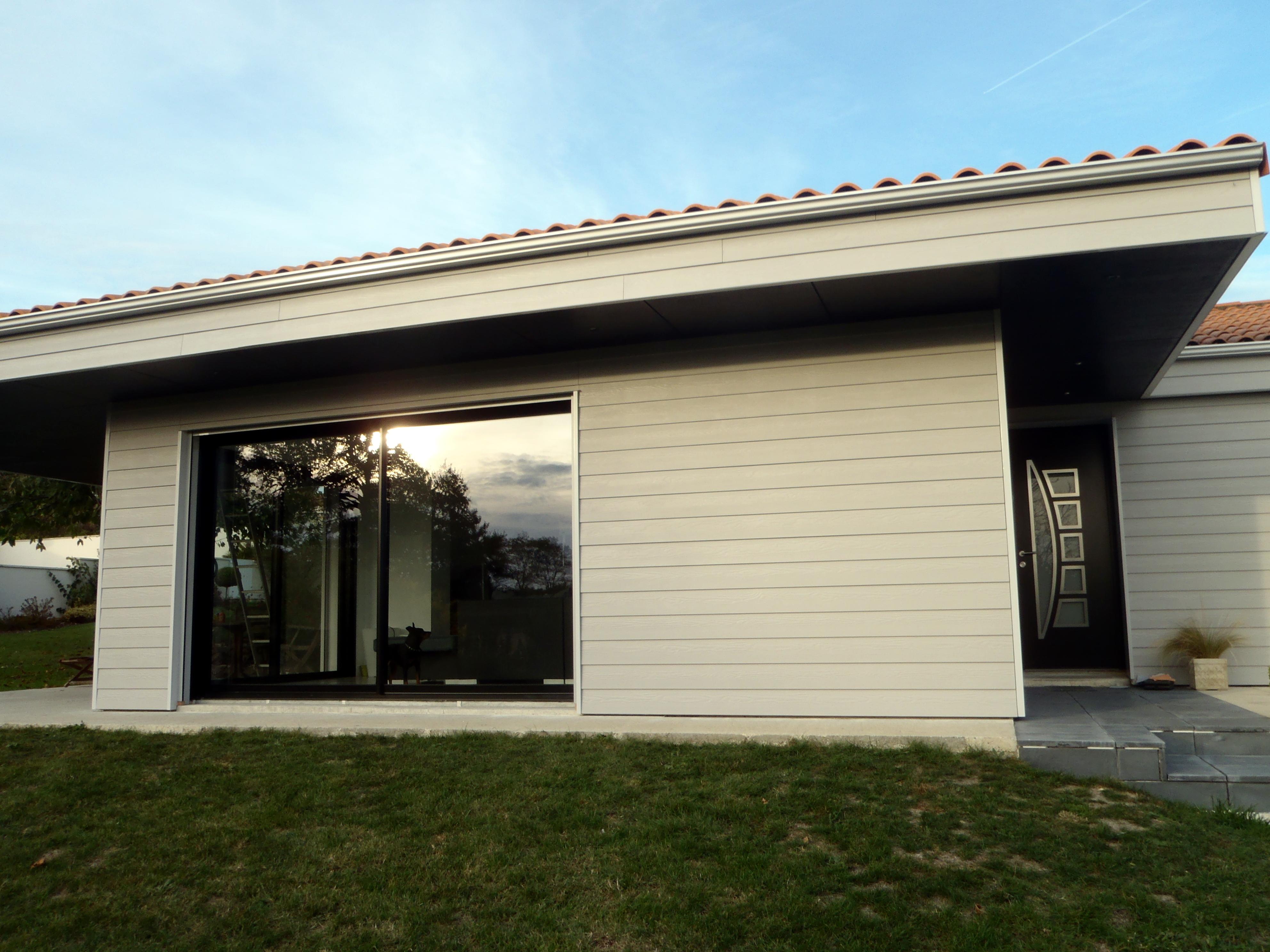 agrandissement ossature bois maison en bois vivanbois. Black Bedroom Furniture Sets. Home Design Ideas