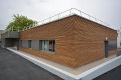 vivanbois-laboratoir routier de saintes-lot ossature bois bardage et menuiserie intérieure