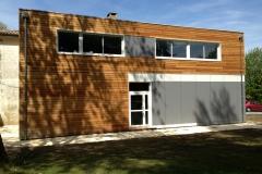 vivanbois-lycée de recouvrance à saintes-ossature bois-bardage thermohuilé-bardage findermax-bardage classe 4 alto 1