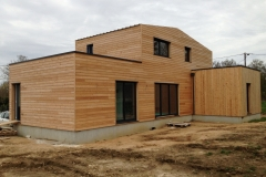 vivanbois-maison ossature bois-bardage mélèze- gémozac