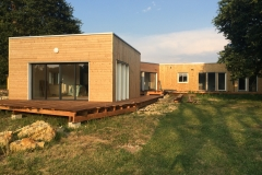 vivanbois-maison ossature bois mélèze charpente douglas-thénac 2