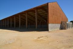 vivanbois-struture bois-lamellé collé-batiment de stockage à plaquettes de bois de chauffage avec production électrique par photovoltaïque-gémozac 12