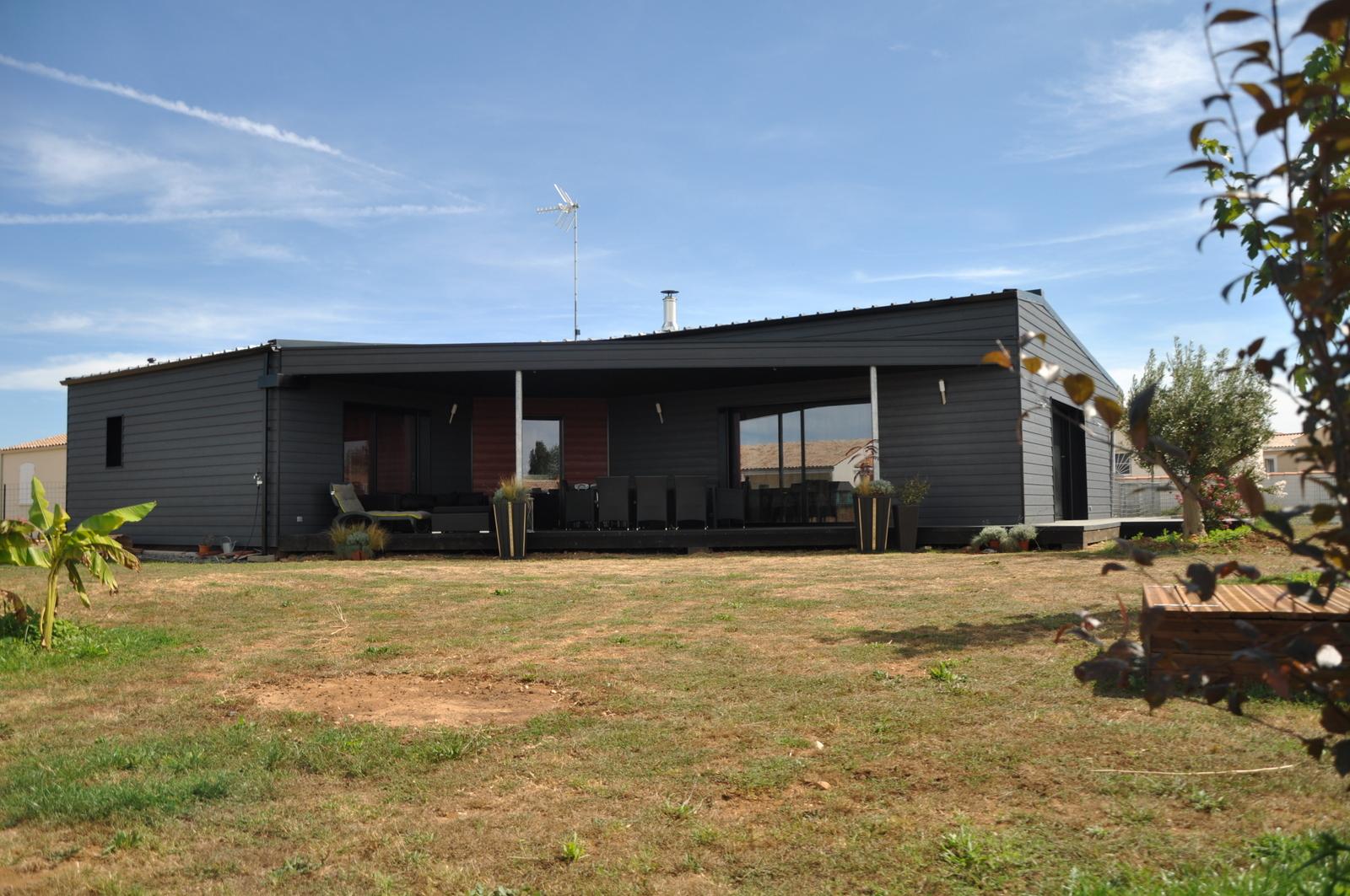 nos realisations et references maison en bois vivanbois. Black Bedroom Furniture Sets. Home Design Ideas