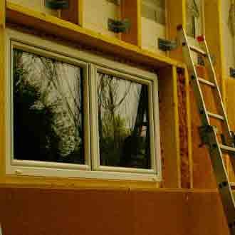 rénovation menuiserie fenêtre bâtiment 17 saintes