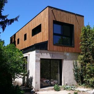 surélévation maison bardage bois st Georges de didonne17