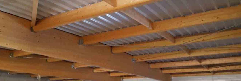 charpente bois portique lamellé collé supérette de brizambourg 17