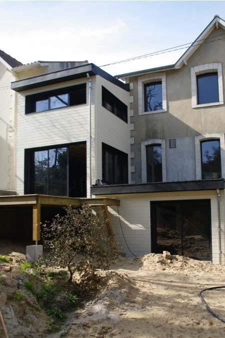 agrandissement maison ancien extension bois st georges de didonne