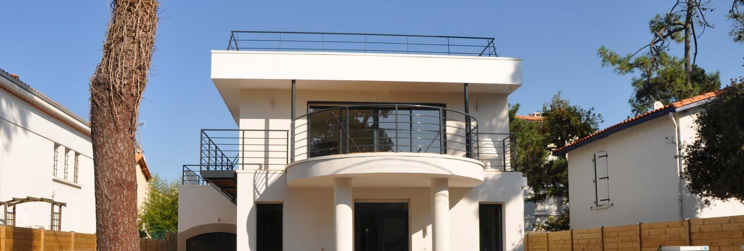 construction étage supplémentaire maison st george de didonne 17110
