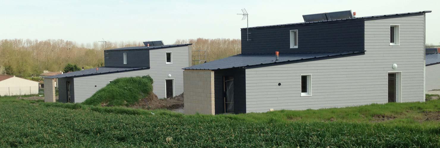 construction logement social bardage bois pons