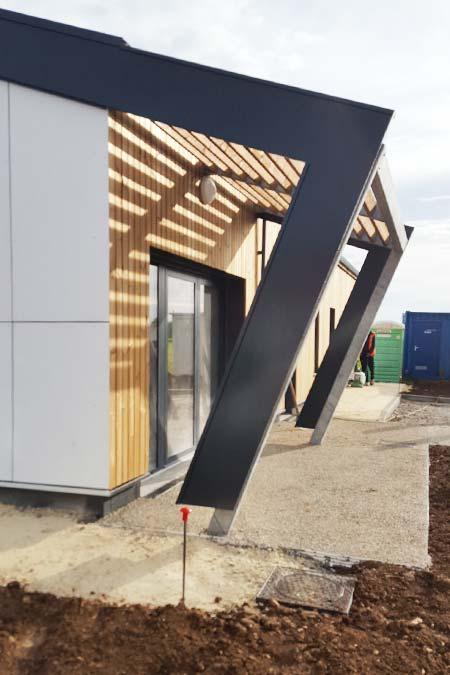 facade batiment commercial struture aluminium bois brizambourg 17