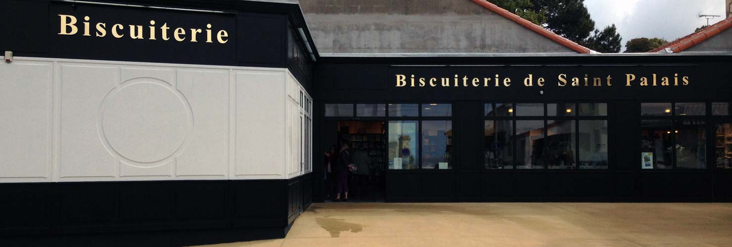 facade magasin biscuiterie saint palais 17
