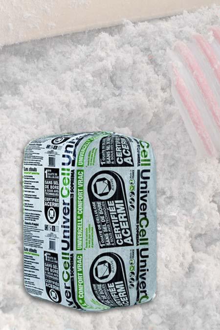 ouate de cellulose sac univercell