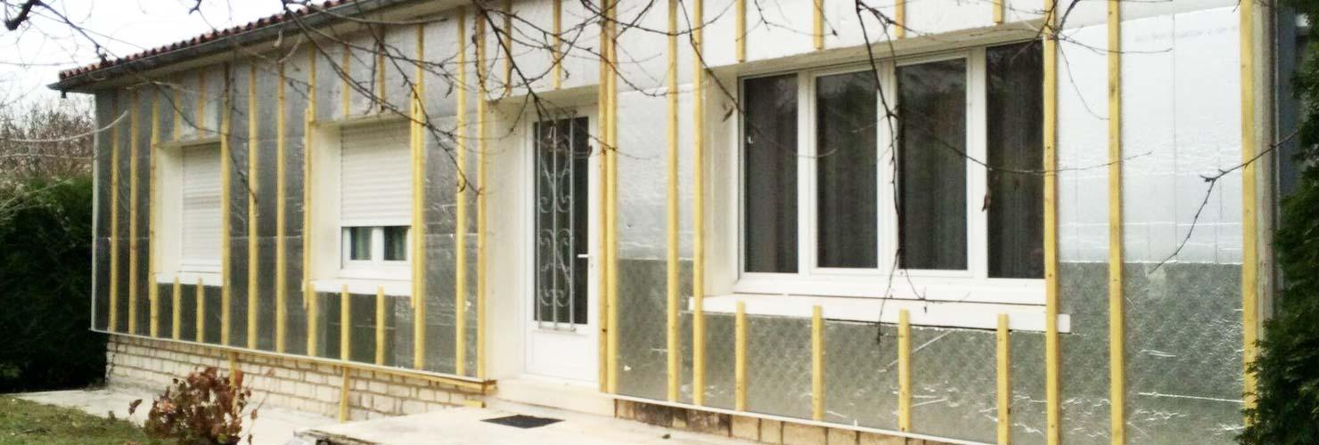 rénovation énergétique isolation des murs ITE efigreen efisol saintes 17100