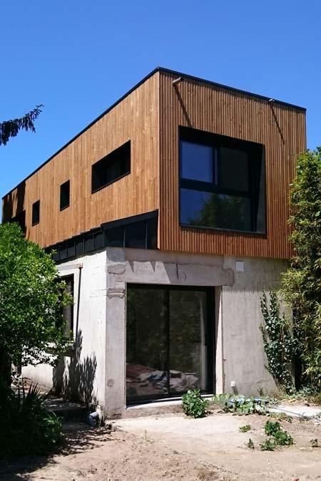 vivanbois construction ossature bois surelevation st georges de didonne 17110