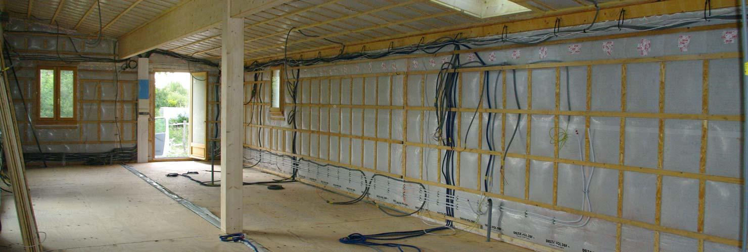 vivanbois isolation mur maison par ouate de cellulose insuflee
