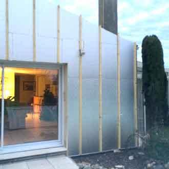 isolation mur exterieur maison en rénovation ITE