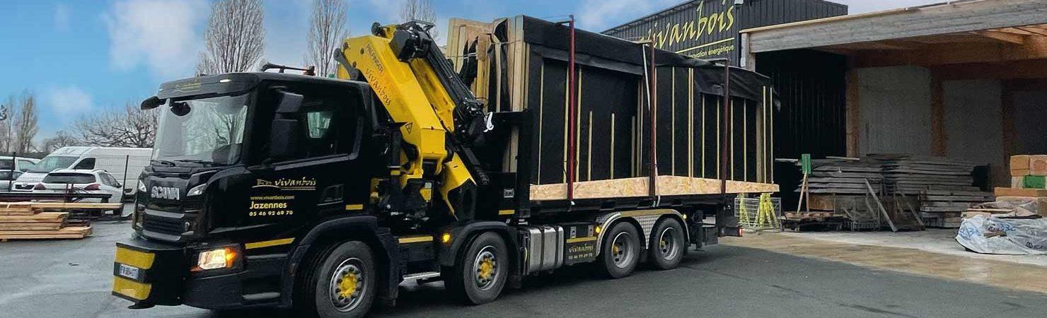 camion scania livraison vivanbois