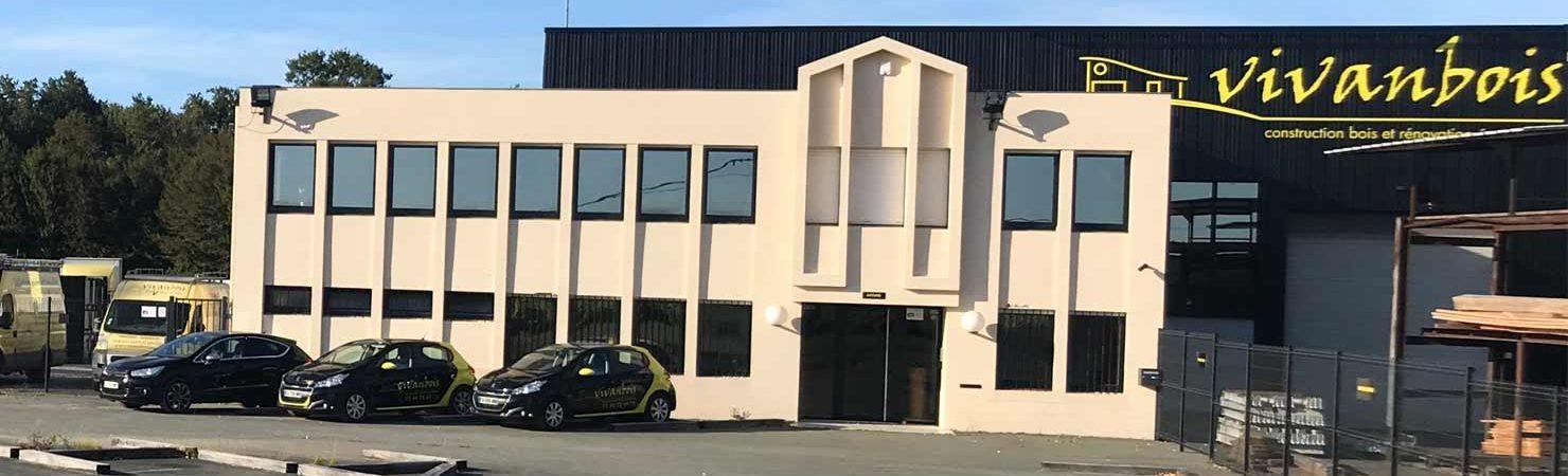 siège entreprise construction vivanbois Gémonzac